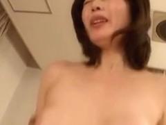 Sexy mature Asian babe Eriko Miura enjoys deep penetration