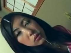 Non-Professional asians facual cumshots compilation