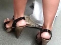 hunted high heels