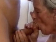 Granny gets massage vagina