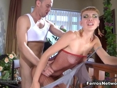 PantyhoseJobs Video: Aubrey and Herbert