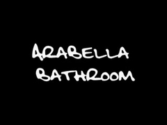 Holidaying pair has anal sex in the washroom