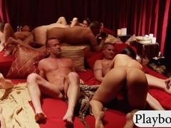 Group of swingers played wheel of fucking and enjoyed it