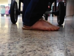 Candid sandals with crush and faceshot