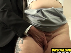 Estella Bathory chubby slut learns the meaning of true pain