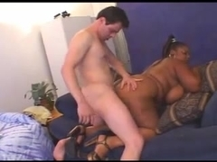 Nikka (Black BBW), a white guy & Will Ravage