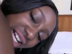 Amateur ebony slut