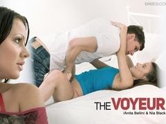 Anita Bellini in The Voyeur Scene
