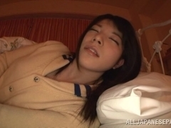Sexy Asian Ai Uehara likes to deep throat cock