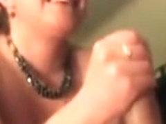 Hot MILF sucked me off
