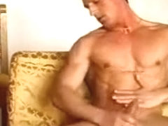 muscle boy jacking