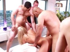 dutch blond pornstar chelsey team fuck