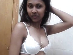 Innocent indian immature is teasing me