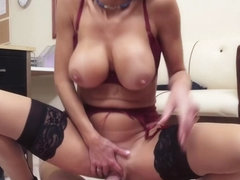Veronica Avluv & Mark Wood in House Wife 1 on 1