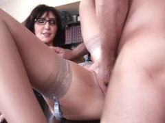 Diana Prince & Mr. Pete in Naughty Office