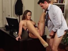 Chanel Preston & Ryan Driller in Naughty Office