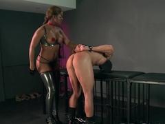 BDSM XXX Sassy slave learns the hard way