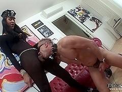 PinkoShemales Video: Bound And Fucked