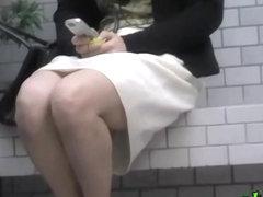 Japanese sharking video shows a woman wearing no panties