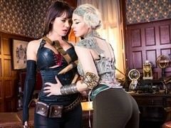 Franceska Jaimes & Sophia Knight  in League of Frankenstein - Episode 5 - Little Fairy Fucked
