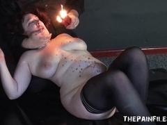 Burned excercising slavegirl big beautiful woman s&m and way-out fetish