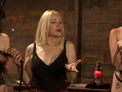Crazy fetish adult scene with horny pornstars Kay Kardia, SubMiss Ann and Olivia Fawn from Kinkuni.