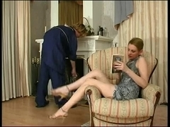 Russian Lady and cleaner (mate)
