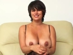 Big titty milf tease