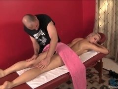 Blond Annikka Gets Her Toned Butt Speed Fucked