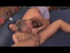 Hottie BBW Mature Blonde Gets Cum on Face