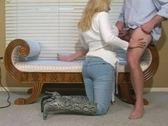 Hot Cougar In Boots BJ and Bang- Pt 1