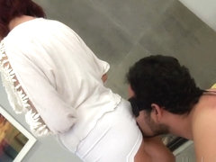 Incredible Homemade video with Couple, Brunette scenes