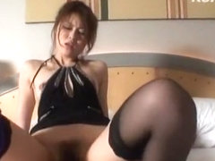 Best Japanese chick Yukino Mori in Hottest Stockings/Pansuto JAV clip