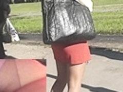 Sexy gazoo up black red petticoat