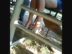 long legs, nice toes voyeur