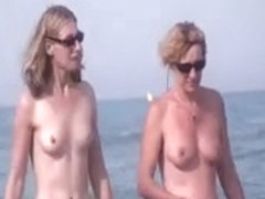 French nudist beach Cap d'Agde people walking nude 08