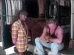 Nubian Goddess  Dominque  copulates a guy in a truck