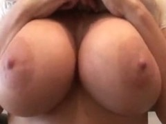 Non-Professional wife can't live without her bazookas and cum