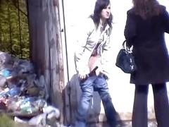 Girls Pissing voyeur video 247