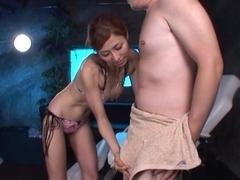 Akari Asahina lusty milf enjoys lots of cock for an amateur