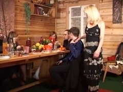 Russian Wench  Mother I'd Like To Fuck Receives 2 In The Gazoo part 1