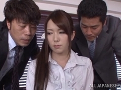 Yui Hatano sexy Japanese teacher gets hot fucking