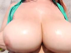 Hottest pornstar in Crazy Redhead, Big Tits sex movie
