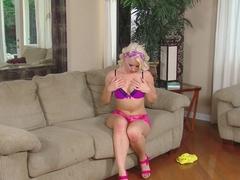 Horny pornstar Anikka Albrite in Exotic Masturbation, Blonde xxx video