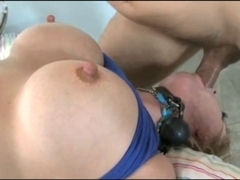 Fastened Up Large Teat Mother I'd Like To Fuck!!!!!!!