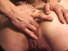 Wicked pierced mother I'd like to fuck butt fisting