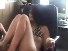 girls gone wild. tied up girl gets tickled and her tits show up.