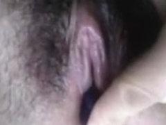Masturbating with pen