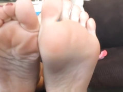 Hottest Homemade clip with Foot Fetish, Close-up scenes