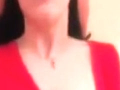 Non-Professional hotty in red nylons unfathomable anal
